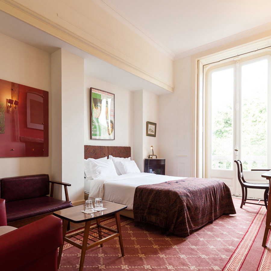 A Double Superior Room with View in our hotel The Independente Suites and Terrace